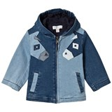 Stella McCartney Kids Blue Donkey Denim Bubba Jacket