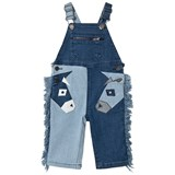 Stella McCartney Kids Blue Donkey Applique Dungarees