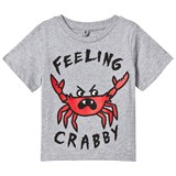 Stella McCartney Kids Grey Feeling Crabby Arlo Tee