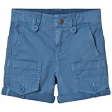 Stella McCartney Kids Blue Side Pocket Pine Shorts