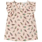 Stella McCartney Kids Pale Pink Ice Cream Poppy Frill Blouse