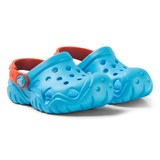 Crocs Kids Blue and Orange Swiftwater Clogs