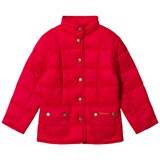 Barbour Pink Raspberry Moorfoot Quilted Jacket