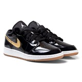 Air Jordan Black Metallic Air Jordan 1 Low Trainer