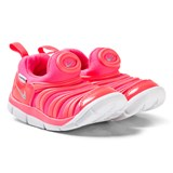 Nike Pink and White Nike Dynamo Free Shoes