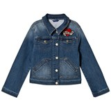 Guess Denim Jacket with Embroidered Details