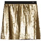 Guess Gold and Black Sequin Skirt
