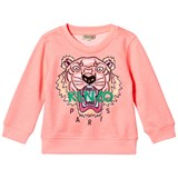 Kenzo Kids Coral Embroidered Tiger Sweatshirt