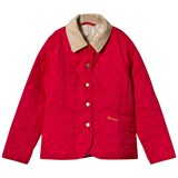 Barbour Raspberry Summer Liddesdale Quilted Jacket with Mist Lining