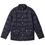 Barbour Navy Moorfoot Quilted Jacket