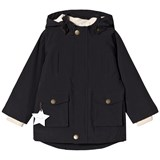 Mini A Ture Black Waterproof Parker Jacket