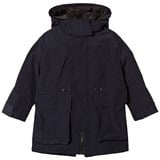 Burberry Navy Clayden 3 in 1 Padded Jacket and Detachable Warmer