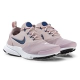 Nike Pale Pink and Navy White Nike Presto Fly Shoes