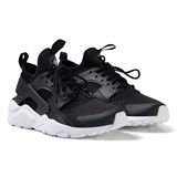 Nike White and Black Nike Air Huarache Run Ultra Shoes