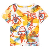 Billybandit Yellow Multi Graphic Short Sleeve Tee