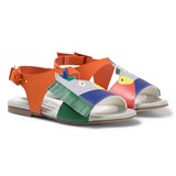 Stella McCartney Kids Multi Colour Donkey Penny Sandals