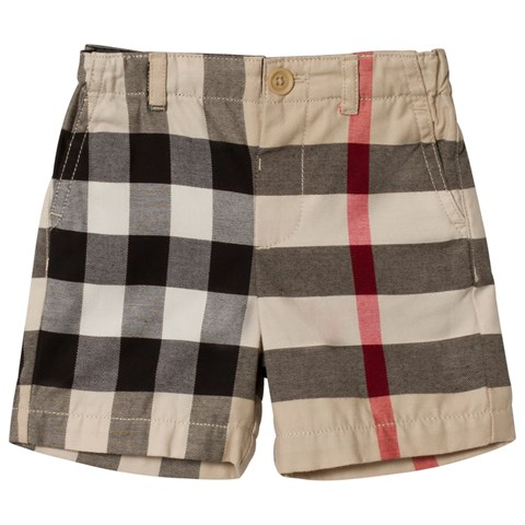 Burberry Beige Stone Sean Shorts