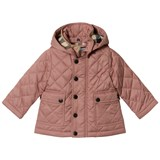 Burberry Pink Quilted Jamie Jacket