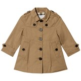 Burberry Beige Sophia Trench Coat