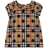 Burberry Beige New Classic Check Dress with Spot