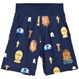 Fabric Flavours Blue Star Wars Chewie & Droid Sweatshorts