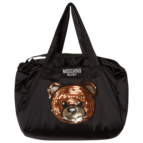552ba0a35f Moschino Black Bear Changing Bag with Mat | AlexandAlexa