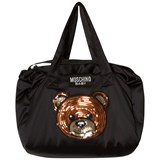 Moschino Black Bear Changing Bag with Mat