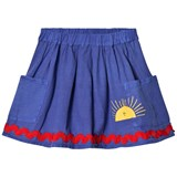 Bobo Choses Turkish Sea Sun Pockets Skirt
