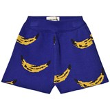 Bobo Choses Turkish Sea Blue Knitted Shorts