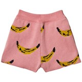 Bobo Choses Strawberry Ice Pink Knitted Shorts
