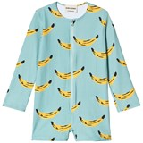 Bobo Choses Beryl Green Banana Swim Overalls