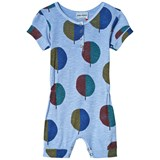 Bobo Choses Heritage Blue Forest Playsuit