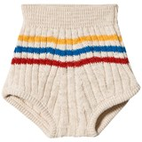 Bobo Choses Buttercream Striped Knitted Culotte