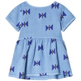 Bobo Choses Heritage Blue Clouds Tee-Dress