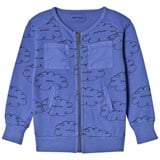 Bobo Choses Turkish Sea Clouds Zipped Sweatshirt