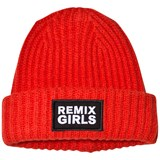Little Remix Red Knitted Badge Hat