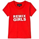 Little Remix Red and White Print Travis T-Shirt