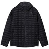 The North Face Black Padded Thermoball Hoodie Puffer