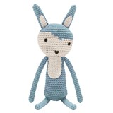 Sebra Crochet Rabbit Cloud blue