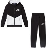 Nike Black and White NSW CORE Tracksuit