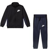 Nike Black, Navy and White NSW PAC Tracksuit