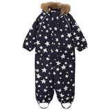 Ticket To Heaven Dark Grey White Stars Detachable Hood Othello Snowsuit