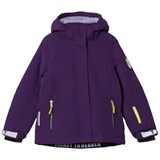 Ticket To Heaven Parachute Purple Detachable Hood Madison Jacket