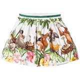 Monnalisa Jungle Book Print Skirt
