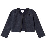Le Chic Navy Glitter Jacket