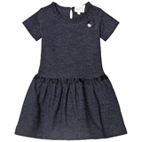 Le Chic Navy Glitter Dress