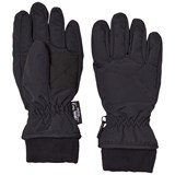 Ticket To Heaven Jet Black Ski Gloves