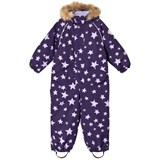 Ticket To Heaven Purple Stars Detachable Hood Allover Parachute Othello Snowsuit