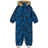 Ticket To Heaven Blue and Black Detachable Hood Othello Snowsuit