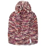 Ticket To Heaven Purple Melange Woolly Ski Hat